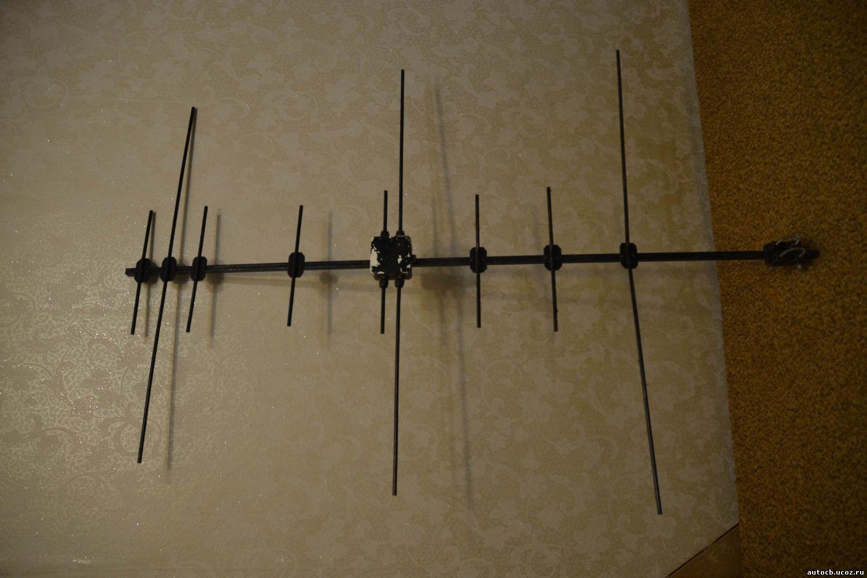О антенна на 433 и 144 мгц своими руками 41